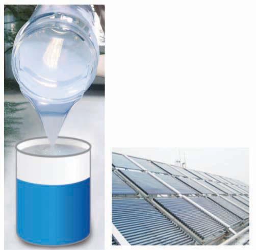 Caucho de silicona para sellar paneles solares aditivos for Caucho de silicona