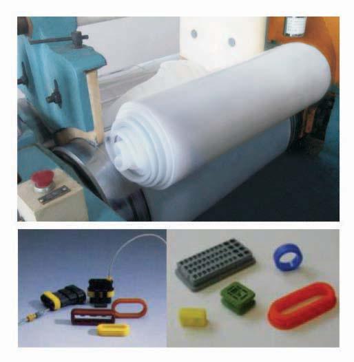 Caucho de silicona s lida de exudaci n silicona para for Caucho de silicona