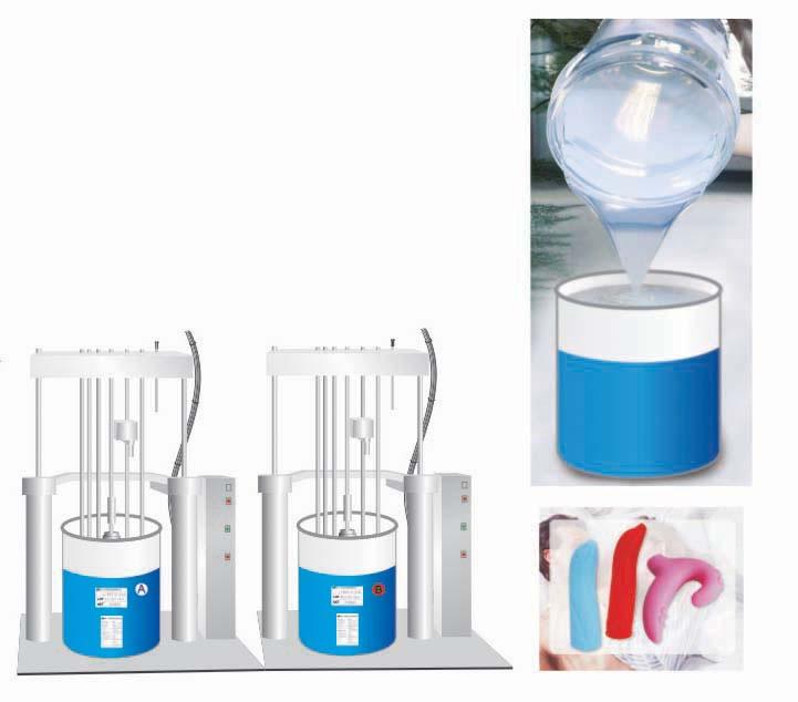 Caucho de silicona para fabricar molde aditivos silicona for Caucho de silicona